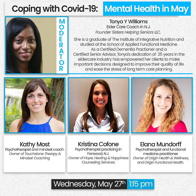 Coping with COVID-19 | Mental Health in May