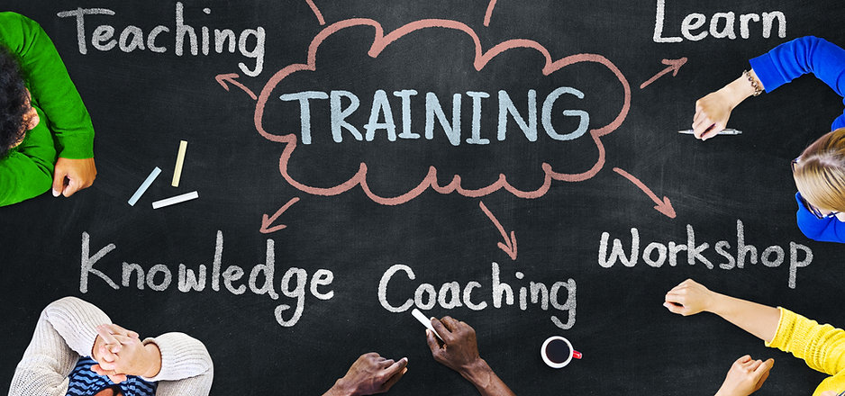 Diverse People Coaching Training Knowled