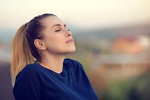 Girl Relaxing