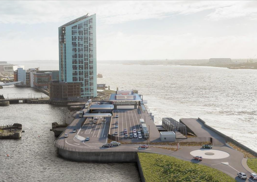 Liverpool Waters development begins construction on Liverpool's waterfront