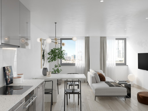 Upper floor 2 & 3-bedroom and penthouse apartments: Pre-launch