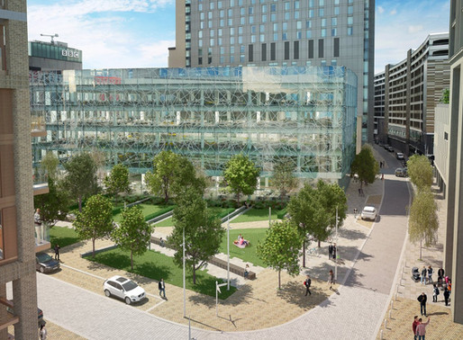 MediaCityUK Phase II: A Place to Live, Work, Study & Play