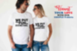 couple valentine t-shirts/ t-shirts for pre wedding photoshoot