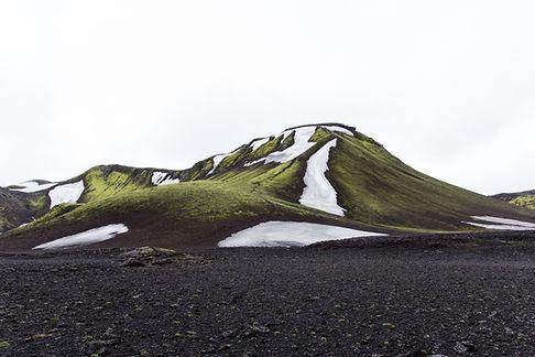 Isdækkede Hills