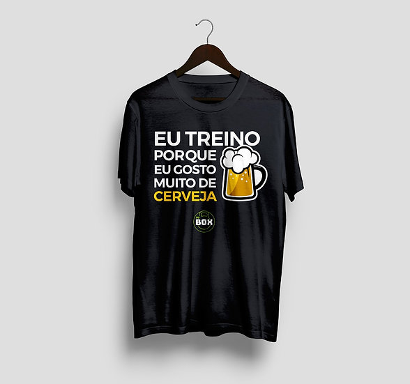 Camiseta Gosto Muito de Cerveja