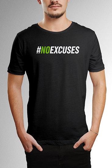 Camiseta No Excuses