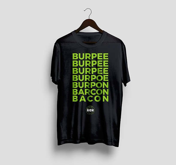 Camiseta Burpee - Bacon