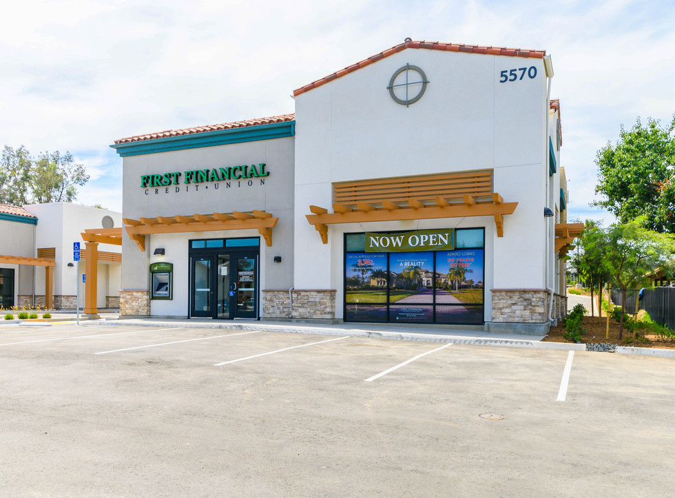 First Financial Credit Union Design Build Construction