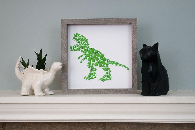 DinoCat - T-Rex Driftwood Frame