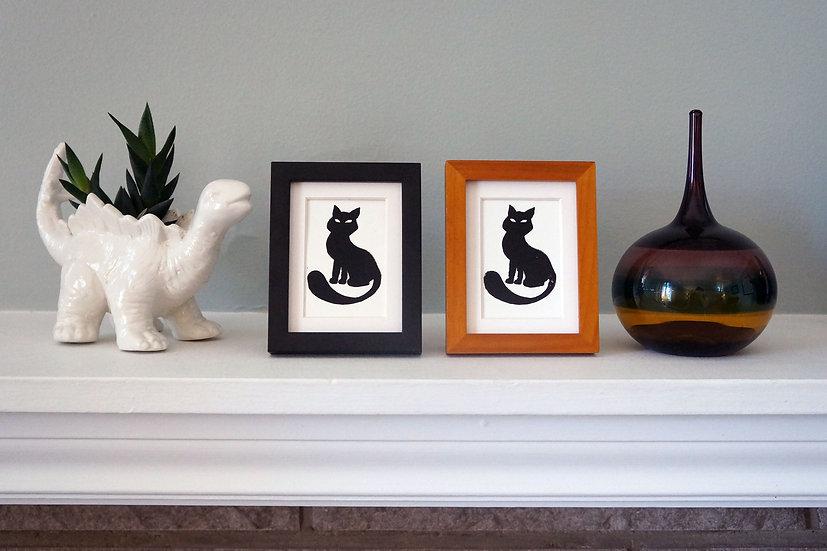 DinoCat - Mini Black Cat