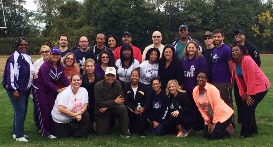 The awesome Lincoln High Faculty responsible for Isaka Walk - thanks to Marcia L