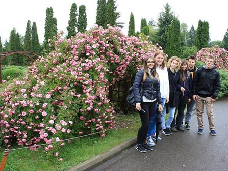 Wizyta w ogrodzie botanicznym oraz na Uniwersytecie w Iasi