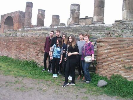 Uroki malowniczych Pompei