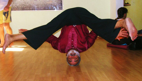 the king of the poses - headstand
