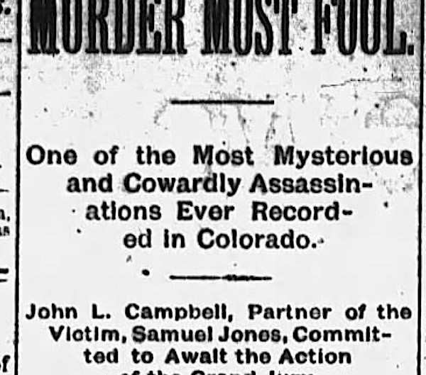 Murder in Unaweep Canyon