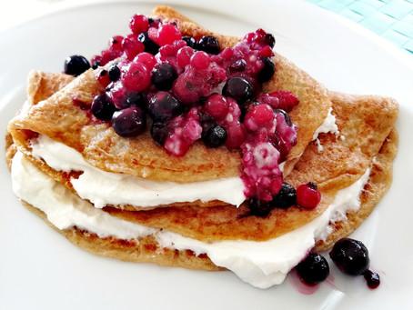 (Recept) Healthy Pancakes 🥞