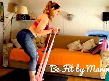 (Video) Trening s elastičnim trakama za cijelo tijelo