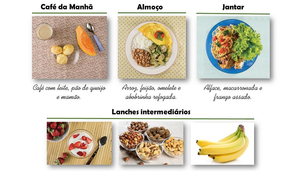 Foto adaptada de: Ministério da Saúde. Guia alimentar para a população brasileira. 2014.