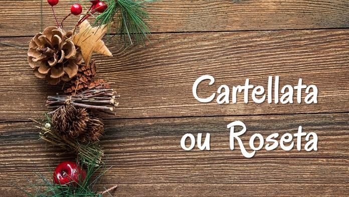 Cartellata ou Roseta de Natal, uma receita da Itália.