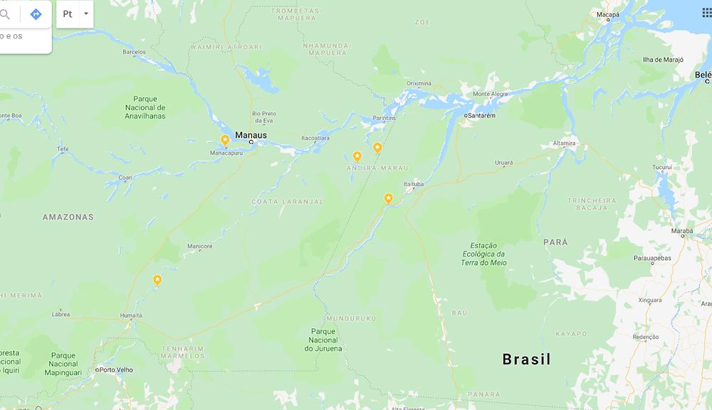 Fonte: Google Maps