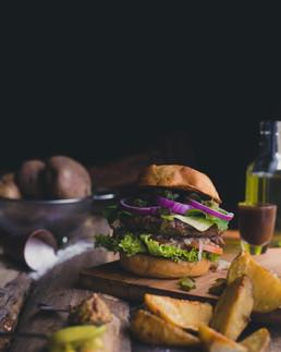 NutS na Cozinha: Hambúrguer caseiro