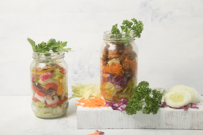 NutS na Cozinha: Salada de Pote