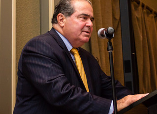 Justice Scalia: We Shall Miss You