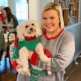Alyssa and Beau at Christmas
