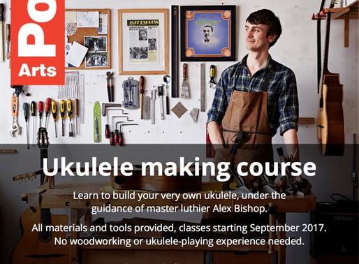 Ukulele making classes