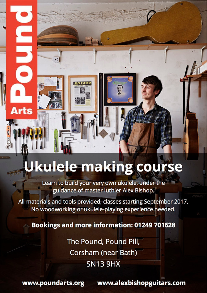 Ukulele making classes