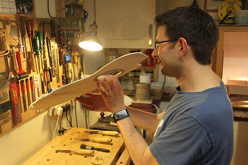 Guitar making lesson - 3 hours
