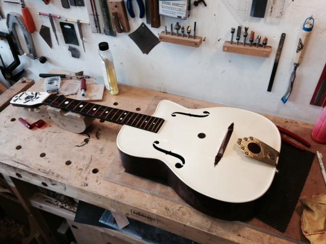 1953 G40 Maccaferri Guitar