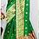 Thumbnail: BHARATHI - Banarasi Soft Silk Saree Green