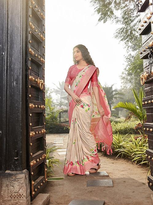 Rich Attire Vrundavan Silk Saree Collection 1004
