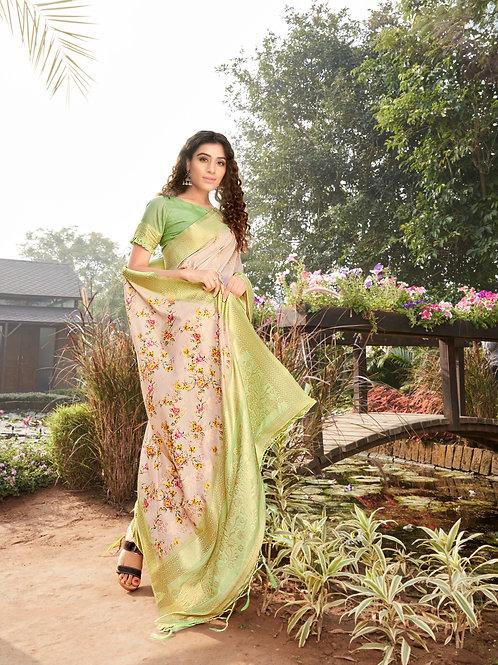 Charminstinct Vrundavan Silk Saree Collection 1003