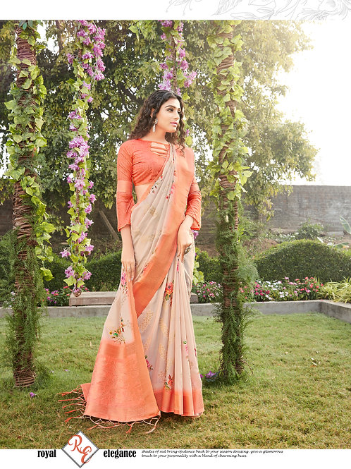 Royal Elegance Vrundavan Silk Saree Collection 1002