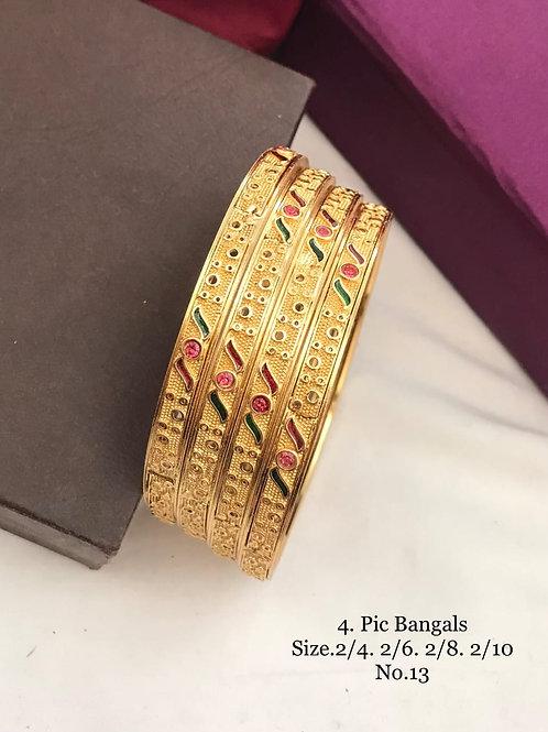 Beautiful Bengal (1Gram) 4pc Set Dno014