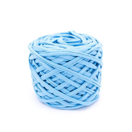 ไหมผ้ายืด No.23 สีฟ้า