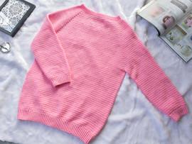 How to ถักเสื้อกันหนาว Top Down Sweater