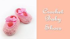 ถักรองเท้าเด็กเล็กเบื้องต้น 0 - 12 เดือน