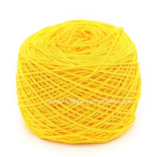 ไหมพรมเบบี้ซิลค์ No.9 สีเหลือง