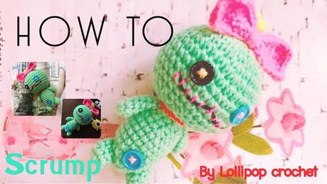 โครเชต์ตุ๊กตาสกั๊ม | Crochet Scrump