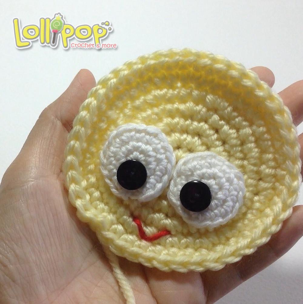 วิธีทำตาตุ๊กตาไหมพรม 1