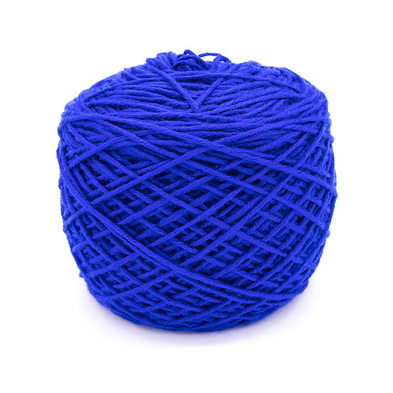 ไหมพรมเบบี้ซิลค์ No.36 สีน้ำเงิน