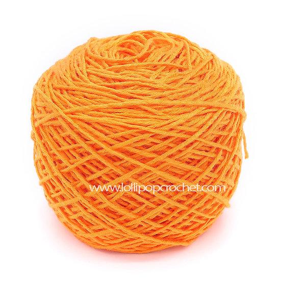 ไหมพรมเบบี้ซิลค์ No.12 สีส้ม
