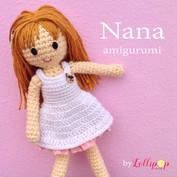 ตุ๊กตา Nana เด็กหญิงผมน้ำตาล