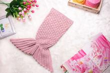 ผ้าห่มหางนางเงือก อุ่น ๆ แบบแฟนตาซี ไซส์เด็ก 0 - 3 เดือน