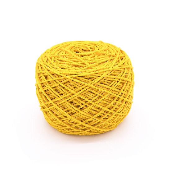 ไหมพรมอินโดซิลค์ No.27 สีเหลือง