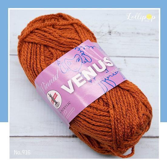 ไหมพรม Venus Winnid 916 วีนัส วินนิด เส้นใหญ่