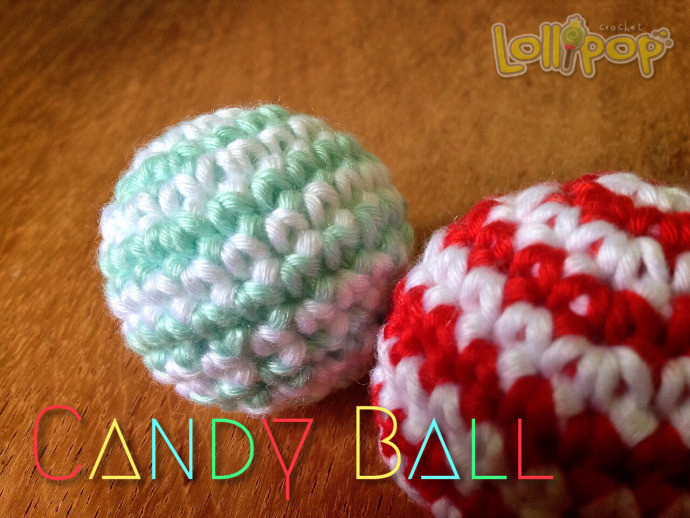 Crochet Candy Ball